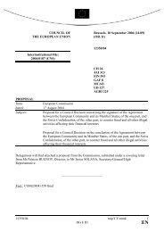 12350/04 mip/CY/mmk 1 DG E III COUNCIL OF THE EUROPEAN ...