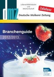 Branchenguide - Deutsche Molkerei Zeitung