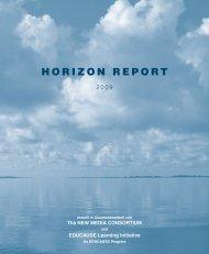 Horizon Report 2009 - Multimedia Kontor Hamburg GmbH