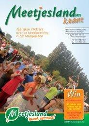 Jaarlijkse infokrant - Meetjesland.be