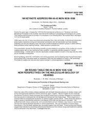1m keynote address rm 40-43 - International Society of Audiology