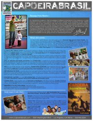 Message from Mestre : News and events : Good ... - Capoeira Brasil