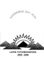 Lapin tutkimusseuran Vuosikirja 2005-2006