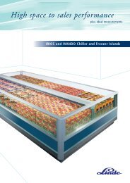 High space to sales performance - Carrier Refrigeration Norway