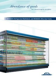 Monaxis Ultra Low Front - Carrier Refrigeration Norway