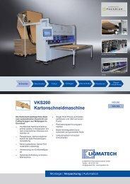 VKS200 Kartonschneidmaschine - HOMAG Group