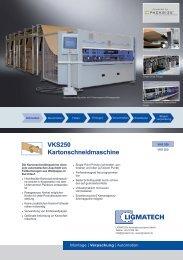 VKS250 Kartonschneidmaschine - HOMAG Group