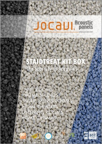 Staidtreat Kit Box The Sobriety in Acoustics- Brochure - Jocavi
