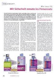 Mit Sicherheit remote ins Firmennetz (pdf) - HOB GmbH & Co.KG