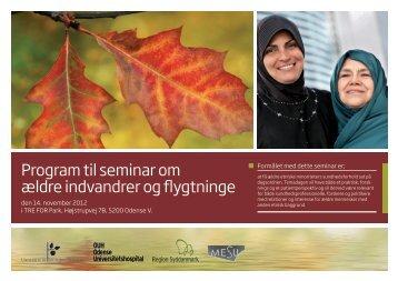 Program til seminar om ældre indvandrer og flygtninge