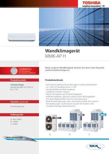 Wandklimagerät MMK-AP H - SKK-GmbH