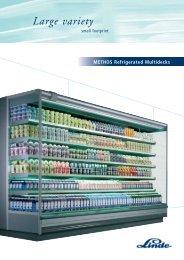METHOS Refrigerated Multidecks - Carrier Refrigeration Norway