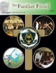 Panther Prowl Fall 2011.indd - Elyria Catholic High School