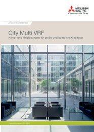 City multi VrF - Mitsubishi Electric