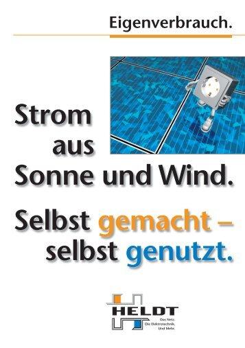 Strom aus Sonne und Wind - Heldt