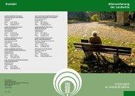 Leistungen an Hinterbliebene - LSV