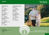 Renten an Landwirte und mitarbeitende Familienangehörige - LSV