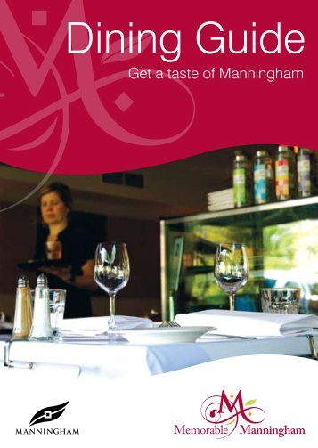 Dining Guide - Manningham City Council
