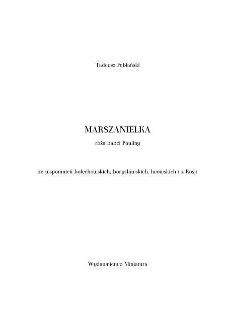 Marszanielka