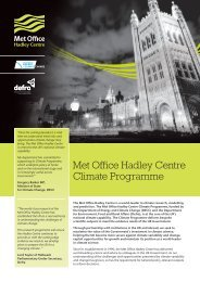 Met Office Hadley Centre Climate Programme (PDF, 1