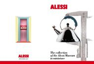 The collection of the Alessi Museum in miniature