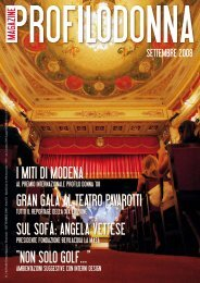 Settembre 2008 - Profilo Donna Magazine