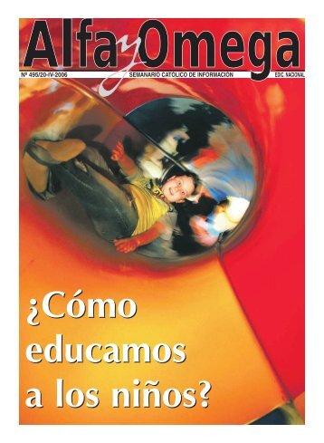 nº 495/20-iv-2006 semanario católico de información ... - Alfa y Omega