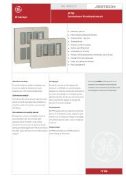 FP 700 Conventionele Brandmeldcentrale FP 700 FIRE PRODUCTS