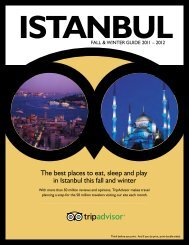 The best places to eat, sleep and play in Istanbul this ... - TripAdvisor