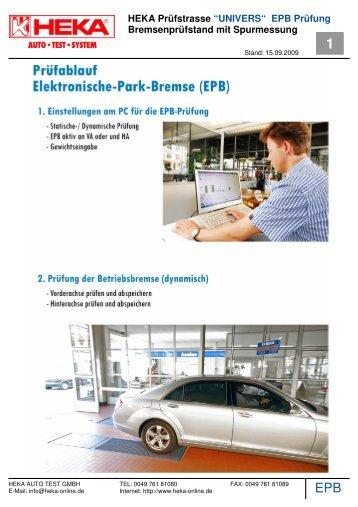 epb elektronische-parkbremse - Heka