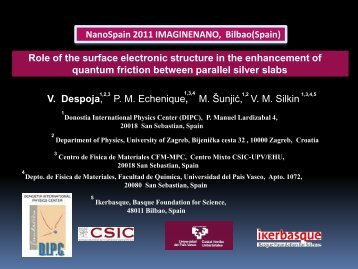 Role of the surface electronic structure in the enhancement of ...