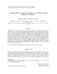 A modal pushover analysis procedure for estimating seismic ... - DICA