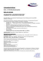 Leistungsbeschreibung böhm - AT-OS-Steckbeckenspüler MOD: AF ...