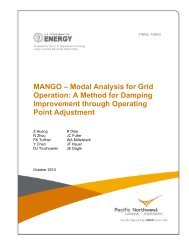 Modal Analysis for Grid Operation - Consortium for Electric ...