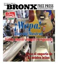 BRONXFREE PRESS Crece el emporio de la música latina
