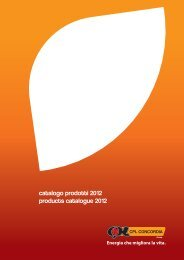 catalogo prodotti 2012 products catalogue 2012 - CPL Concordia