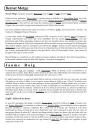 Bernat Metge J a u m e     R o i g - Blog de lingüística