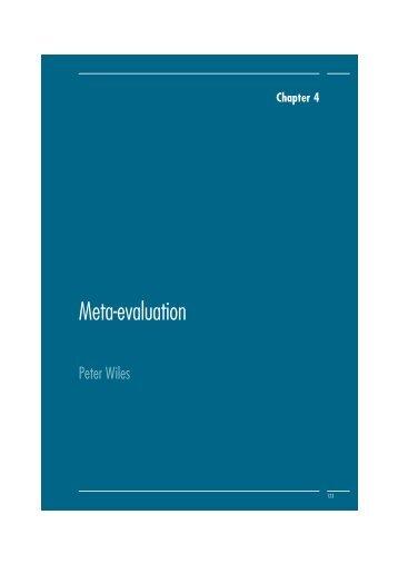 Meta-evaluation - La Fabrica Creativa