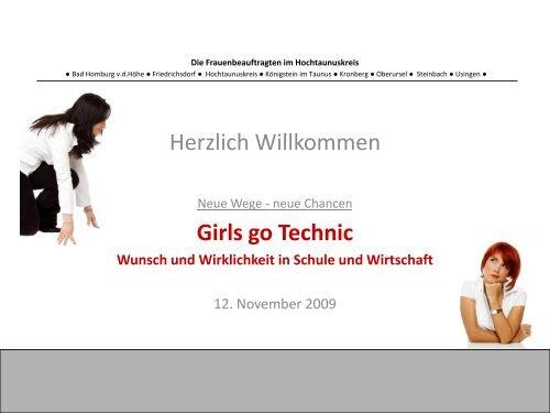 Girl´s go Technic ? - Bad-Homburg