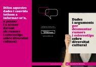Dades i arguments per desmuntar rumors i ... - interculturalitat