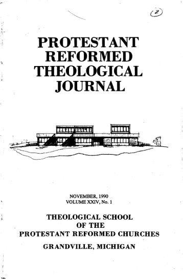 November 1990 (pdf) - Protestant Reformed Churches in America