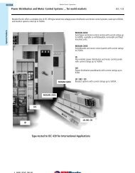 Power Distribution and Motor Control Systems ... - Moeller Electric