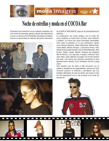Noche de estrellas y moda en el COCOA - Imagen Optica