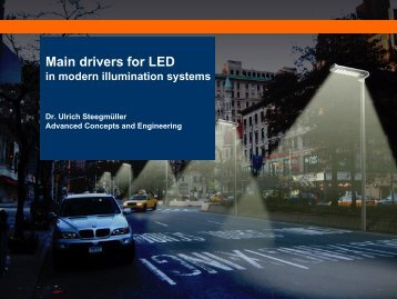 drivers for LED - The LED Light Site - OSRAM Opto Semiconductors