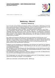 Belehrung nach Infektionsschutzgesetz-Warum - Hochtaunuskreis