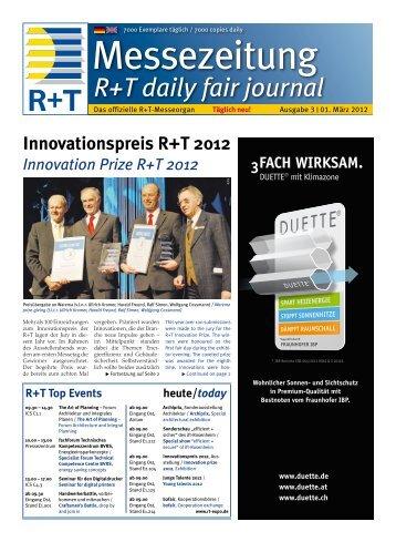 auf der R+T 2012 - FH Kleffmann Verlag GmbH - Downloadcenter
