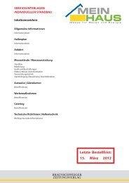 deadline Planzusendung 01. März 2012 - Braunschweiger ...