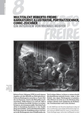 8multitalent roberto freire: karikaturist, illustrator ... - art · of · robolus