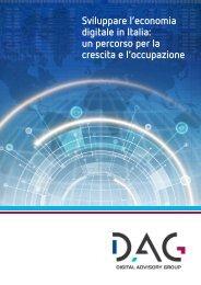 Sviluppare l'economia digitale in Italia - Prima Comunicazione