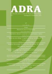 Revista Adra 1.indd - Museo do Pobo Galego